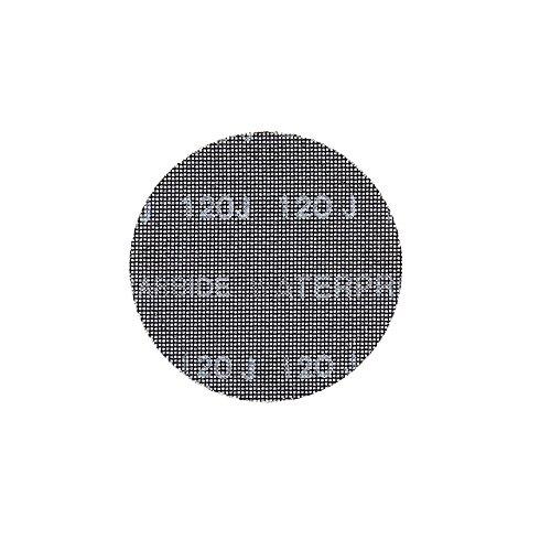 Dewalt Schleifgitter Extreme (120er Körnung, 150 mm Ø, mit Klettfix, für den Einsatz auf Exzenterschleifern, 10 Stück) DTM3135