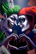 Harley Quinn & Joker III: Harley Quinn & Joker from Batman Comic Blank Journal