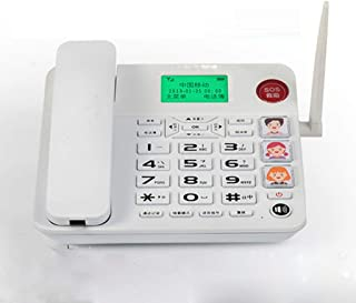 LULUD Fixed Telephone - Corded Telephones Home - Retro Landline Phone - Corded Telephones with Answer Machine (Color : D)