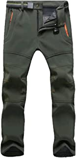 YiLianDa Pantalones de Trekking Pantalones de Softshell