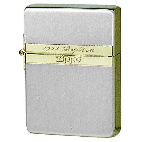 Zippo(ジッポー) オイルライター 1935ミラーライン シルバーゴールド 251208.0