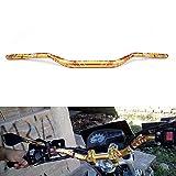 Manillar de moto 1 1/8 '28mm barra de mango de grasa universal para RMZ125 RMZ250 RM125 RM250 RM RMZ DRZ 125 250 300 450 350 Dirt Bike Moto Oro