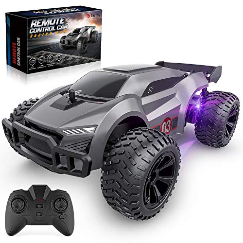 Baztoy Remote Control Car, Kids Toys High Speed RC Racing Car Multi-Terrain...