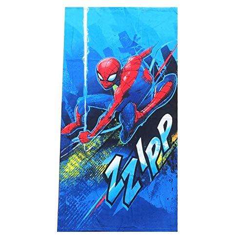 TELO Mare Spiderman Uomo Ragno Asciugamano Marvel in MICROSPUGNA CM. 137X67 - SP 1032
