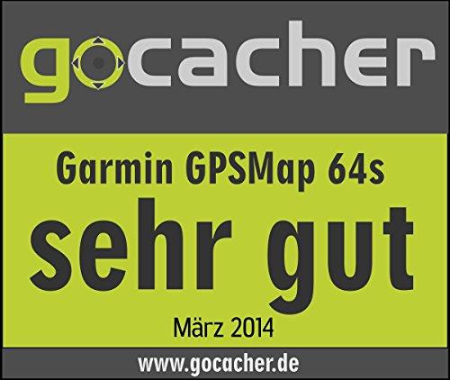 Garmin GPSMAP 64s Navigationshandgerät – barometrischer Höhenmesser, GPS und GLONASS Kompatibilität, Live Tracking, Smart Notification, 2,6 Zoll (6,6cm) Farbdisplay - 10