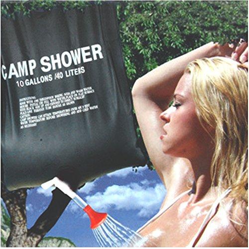 20 L portatif d'extérieur avec douche de camping sac de rangement de l'eau de douche de bain douche de jardin Douche solaire en PVC de douche Accessoires Camping