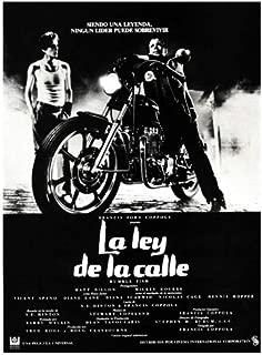 Rumble Fish Poster Movie Spanish 11x17 Matt Dillon Mickey Rourke Dennis Hopper Diane Lane