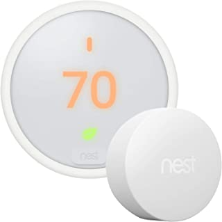 Google Nest Thermostat E - Programmable Smart Thermostat for Home T4000ES - 3rd Generation Nest...