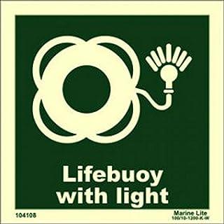 IMPA 334170 vinilo fotoluminiscente: Primeros auxilios //// IMO sign symbol label First aid Pegatina se/ñal OMI 104170 20x15cm photoluminescent vinyl
