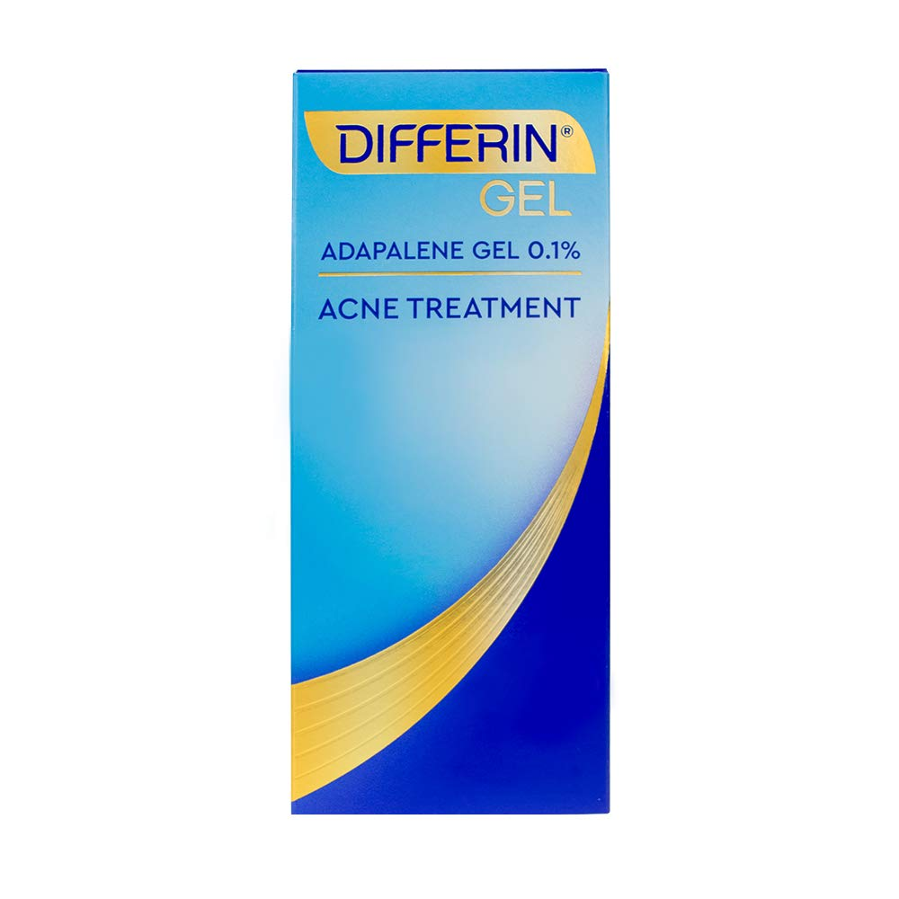 Acne Treatment Differin Gel for Face with Adapalene, Clears and Prevents Acne, Up to 30 Day Supply, 15g Tube