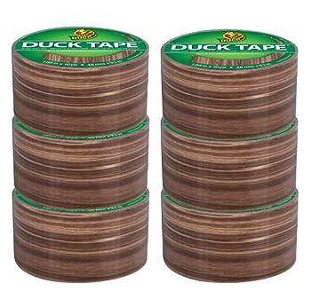 Duck Brand 283051_C Duck Duct Tape Woodgrain