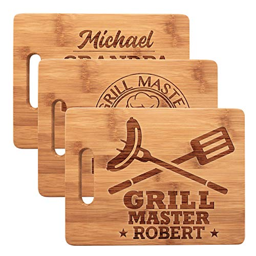 Personalized Dad Cutting Board