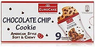 Eurocake Chocolate Chip Cookie, 9 x 252 gm
