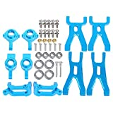 VGEBY Front/Rear Swing Arm, RC Car Metal Upgrade Replacement Kit 1/18 Suspension Arm Accessory for WLtoys A959/A969