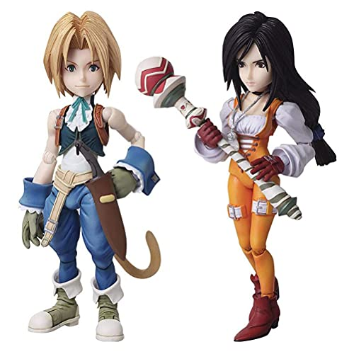 YLJXXY Final Fantasy IX Zidane Tribal & Garnet TIL Alexandros XVII Figure Anime Model Action Figuren Giocattoli da Collezione per Fotografia, Hobby E Collezione