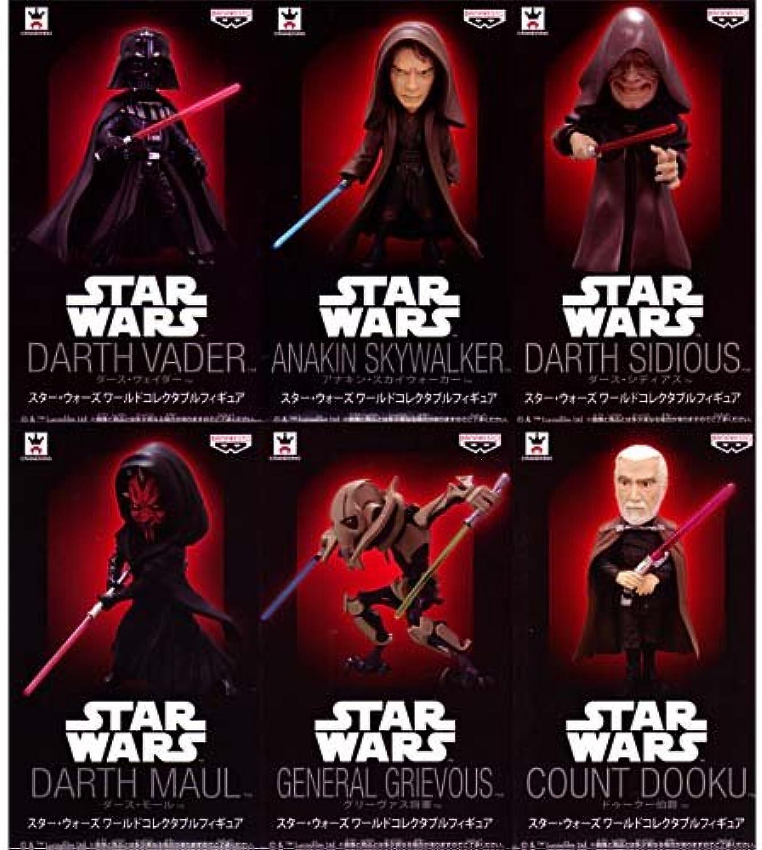 descuento de bajo precio Estrella Wars Mundial de Coleccioen Figura conjunto entero de de de 6  la calidad primero los consumidores primero