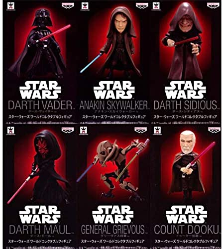Envío rápido y el mejor servicio Star Wars Mundial de Coleccioen Figura conjunto conjunto conjunto entero de 6  100% precio garantizado