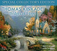 Thomas Kinkade Special Collector's Edition with Scripture 2022 Deluxe Wall Calen: Bridges of Hope