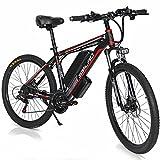 26' Bicicleta Eléctrica Urbana, 500W 48V 13Ah Bicicletas Electricas de Montaña E-Bike, Bicicleta Electrica Adulto Unisex