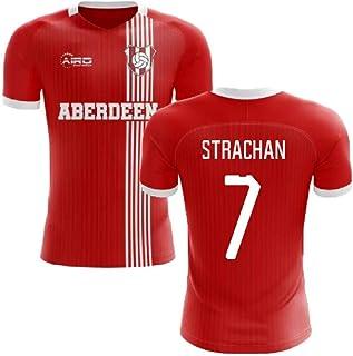 Airosportswear 2019-2020 Aberdeen Home Concept Football Soccer T-Shirt Jersey (Gordon Strachan 7)