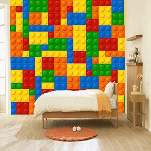 3D Wall Sticker Decoration Self Adhesive Door Decal Mural Children Lego bricks  DS/_1744