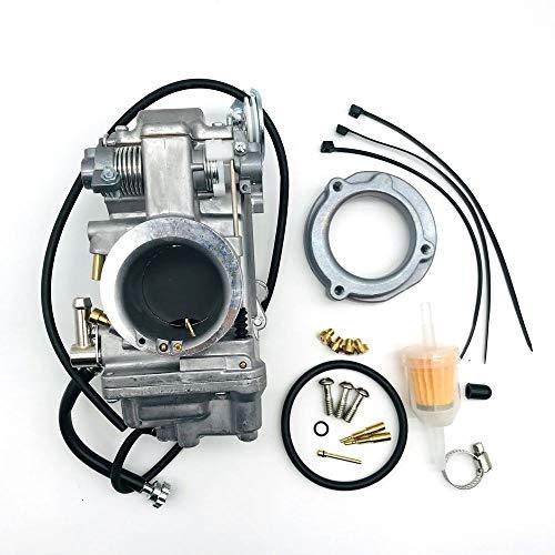 ZHANGNING Kit de reparación de Motor HSR42 HSR45 HSR48 MIKUNI 4T Accelerator Motorcycle Carbureor Bump Rendimiento Pumper Carburador Carbo para Harley TM42 TM45 TM48 Kit de carburador (Size : 48mm)