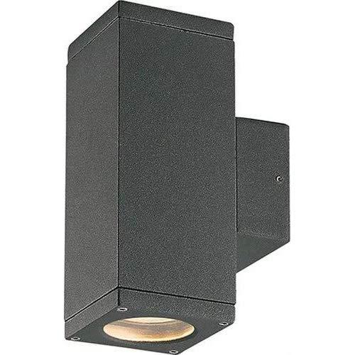Conform CUB - wandlamp IP54 GU10 2x35W zwart