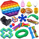 Fidget Toys Set,24 Pack Sensory Toys Set,Toys for Reducing The Stress and Anxiety of Children Adults,Classroom Rewards,Gifts for Birthday Party Favors