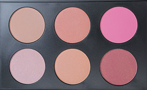 R Noble Blush & Bronzer & Highlighting Kit, Blush Palette + 6 Color, Contour Palette + Powder Blush + Corrective Powder + Makeup