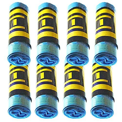 Natuiahan 120 Duft-Müllbeutel, Blau, Selbstverschließend, 30 L, Umweltfreundlich, Ohne Rutschen.