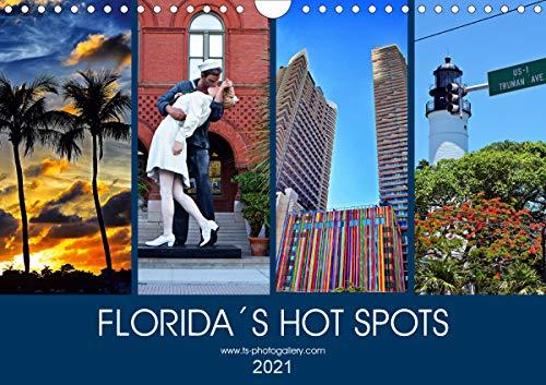 Florida Spots II (Wandkalender 2021 DIN A4 quer)