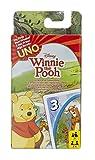Mattel Games 54480 UNO Junior Winnie Puuh Kartenspiel für Kinder, geeignet für 2 - 4 Spieler,...