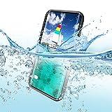 redpepper IP68 Impermeable Carcasas para Samsung Galaxy S10 6,1-Pulgadas Delgado Antichoque Antipolvo Cuerpo Completo Sellado Submarino TPU PC Funda, Soporta Carga wirelss