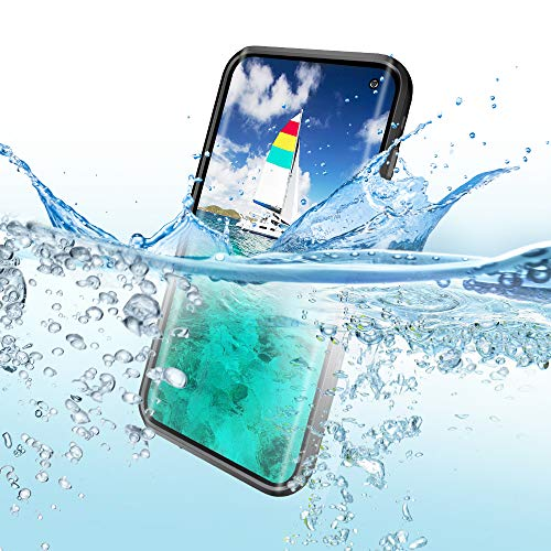 Redpepper Waterproof Case Cover for Samsung Galaxy S10, Shockproof Snow DirtProof White