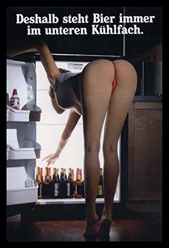 Schatzmix metalen bord Pinup girl bier koelkast metalen bord wanddecoratie 20x30 tin sign
