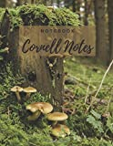 Cornell Notebook: 110 Cornell Note Taking Pages- 8.5x11 inches- Large Paperback