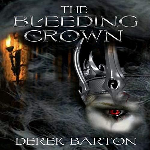 The Bleeding Crown audiobook cover art
