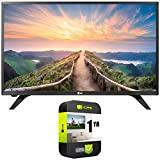 LG 28LM430B-PU - 28-inch Full HD Smart OLED TV (2017) Bundle with 1 Year Extended Protection Plan