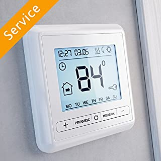 Heated Floor Thermostat Replacement