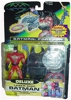 Batman Forever Deluxe Laser Disc Batman Action Figure