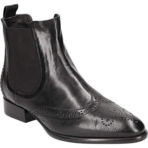 Donna Carolina Damen 38.743.088-002 Stiefeletten schwarz 38 EU