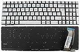 Tastatur mit Hintergrundbeleuchtung, UK-Format, Asus N551/N551VW/N551JM/N551JQ/N551JW/N551JX, NSK-UPPBC F216.