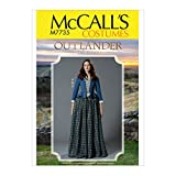 McCall's Patterns Women's Halloween Costume Outlander Cosplay Sewing Pattern, Sizes 14-22