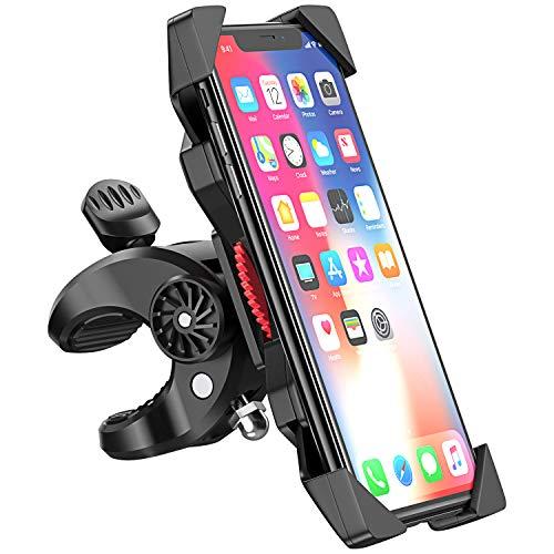 Cocoda Handyhalterung Fahrrad, Anti-Schütteln Handyhalter Fahrrad Handyhalterung Motorrad, 360° Verstellbar Fahrradhalter Lenker für iPhone 11 Pro Max/XR/XS Max/X/8 Plus, Galaxy S10 Plus/S10e/S9 Plus