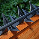 Stegastrip® Fence Wall Spikes Garden Security, Intruder deterrent Anti-Climb (5m)