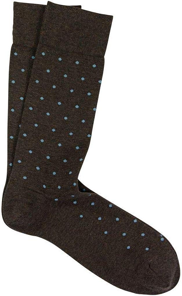 Marcoliani Milano Mens Fashion Mid Calf New Orleans Mall Pima Dot Cotton Socks Polka