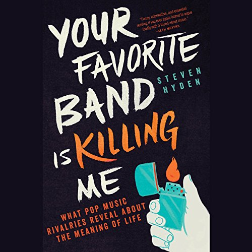 Your Favorite Band Is Killing Me audiobook cover art