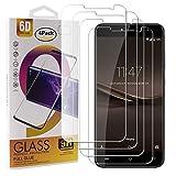 Guran 4 Paquete Cristal Templado Protector de Pantalla para Cubot Note Plus Smartphone 9H Dureza Anti-Ara?azos Alta Definicion Transparente Película