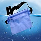 Waterproof Case Pouch, Fuleadture Universal Dry Bag 32ft (10m) with Waist Strap Waterproof
