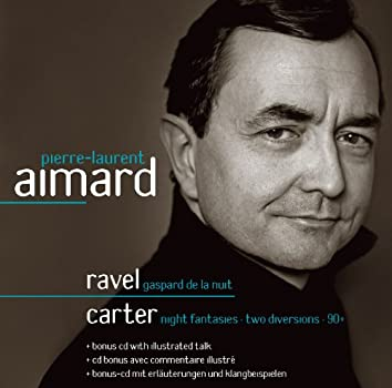 Ravel & Carter : Piano Works (with Interview)